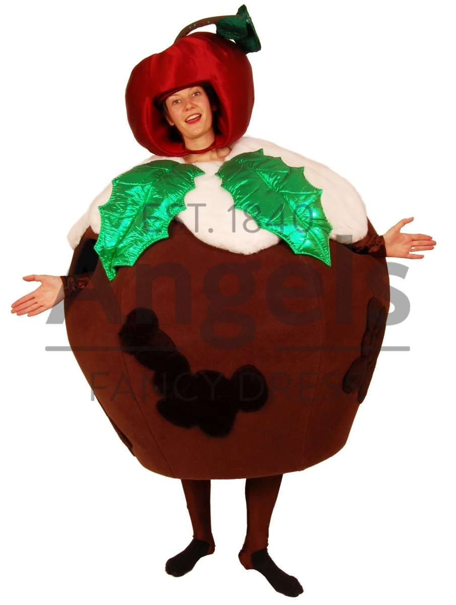 Christmas Pudding Outfit.Angels Fancy Dress Ho Ho Ho It S Our Christmas Hire Costumes
